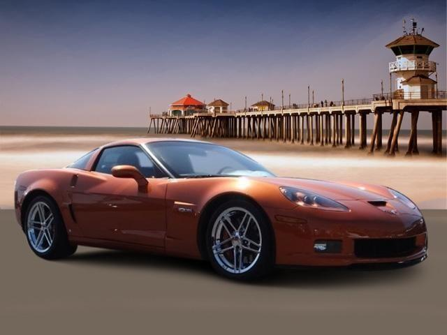 2008 Chevrolet Corvette Coupe 2DR CPE Z06