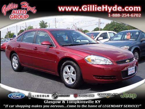 2008 chevrolet impala sedan lt for sale in dry fork kentucky classified. Black Bedroom Furniture Sets. Home Design Ideas