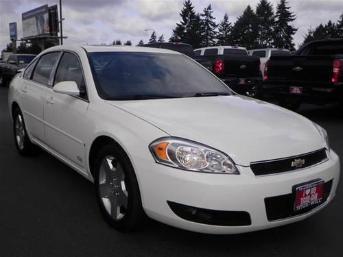 2008 chevrolet impala sedan ss for sale in tacoma washington classified. Black Bedroom Furniture Sets. Home Design Ideas