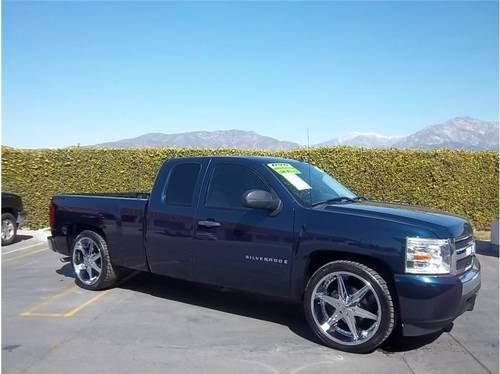 2008 chevrolet silverado 1500 extended cab lt pickup 4d 6 1 2 ft for sale in upland california. Black Bedroom Furniture Sets. Home Design Ideas