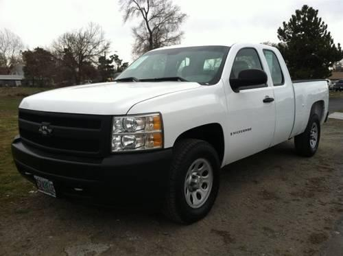 2008 chevrolet silverado 1500 extended cab pickup work truck for sale in hermiston oregon. Black Bedroom Furniture Sets. Home Design Ideas