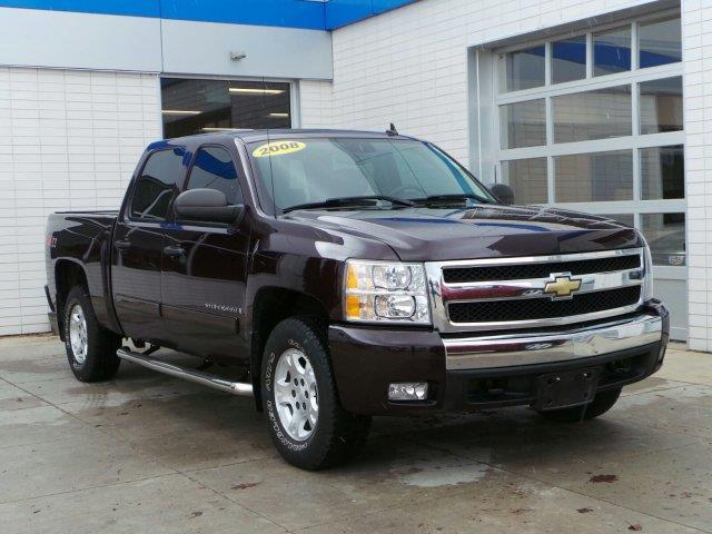 2008 chevrolet silverado 1500 lt1 4wd lt1 4dr crew cab 5 8 ft sb for sale in meskegon michigan. Black Bedroom Furniture Sets. Home Design Ideas