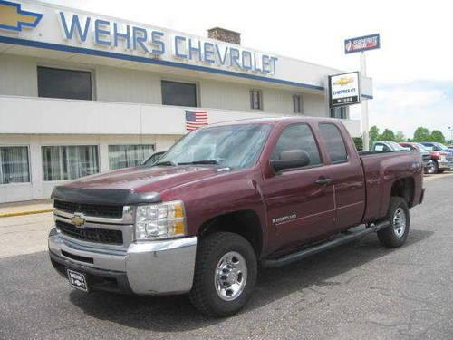 2008 chevrolet silverado 2500hd 4 dr extended cab pickup lt cloth for sale in bangor wisconsin. Black Bedroom Furniture Sets. Home Design Ideas