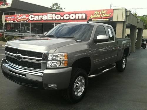 2008 chevrolet silverado 2500hd extended cab pickup work truck for sale in knoxville tennessee. Black Bedroom Furniture Sets. Home Design Ideas