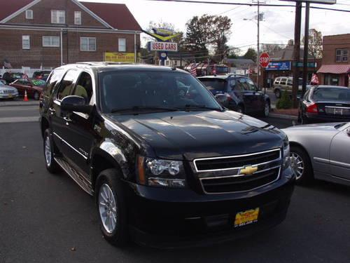 2008 chevrolet tahoe hybrid suv 4x4 call bel air auto. Black Bedroom Furniture Sets. Home Design Ideas