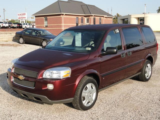 2008 chevrolet uplander cargo van for sale in gilmer texas classified. Black Bedroom Furniture Sets. Home Design Ideas