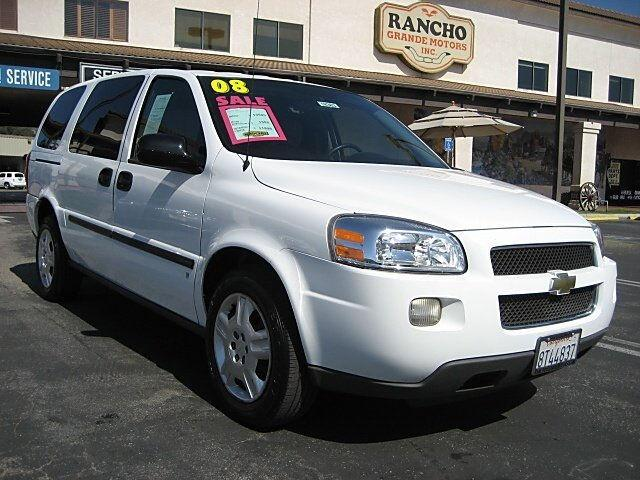 2008 chevrolet uplander cargo van for sale in san luis obispo california classified. Black Bedroom Furniture Sets. Home Design Ideas