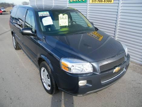 2008 chevrolet uplander van passenger extended ls for sale in jackson michigan classified. Black Bedroom Furniture Sets. Home Design Ideas