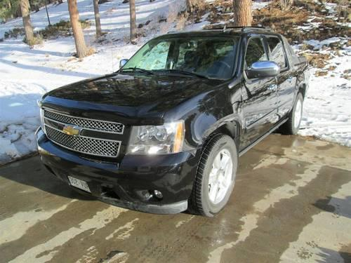 2008 chevy avalanche ltz for sale in brewster colorado. Black Bedroom Furniture Sets. Home Design Ideas