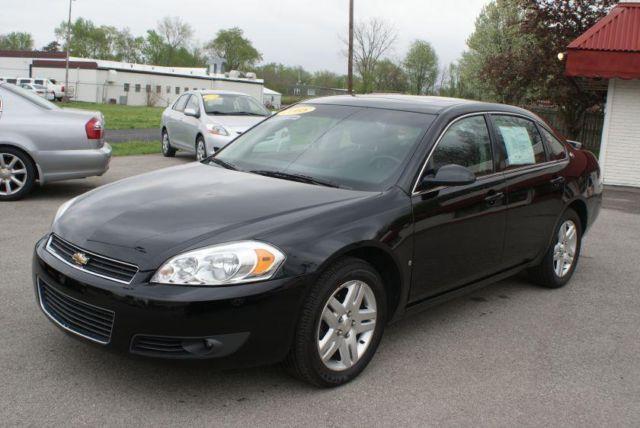 2008 Chevy Impala Lt Sedan V6 Black 81k Miles For Sale