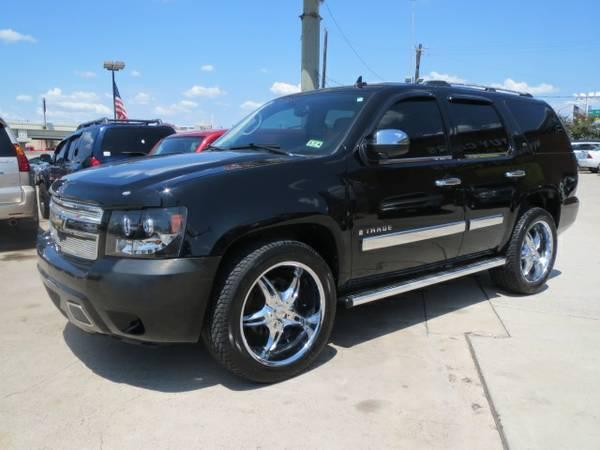2008 chevy tahoe ls in house financing for sale in houston texas classified. Black Bedroom Furniture Sets. Home Design Ideas