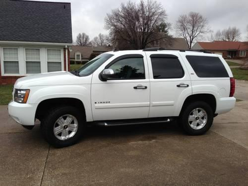 2008 chevy tahoe z71 for sale in henderson kentucky. Black Bedroom Furniture Sets. Home Design Ideas