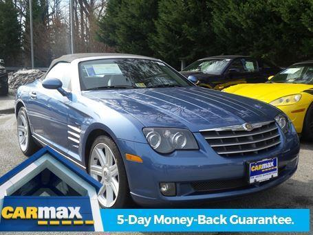 2008 chrysler crossfire limited limited 2dr convertible for sale in virginia beach virginia. Black Bedroom Furniture Sets. Home Design Ideas