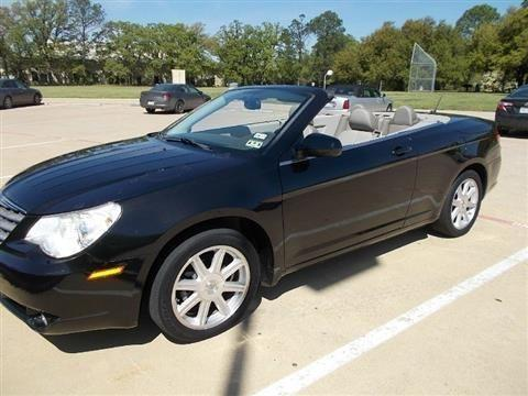 2008 chrysler sebring convertible touring convertible 2d for sale in arlington texas classified. Black Bedroom Furniture Sets. Home Design Ideas