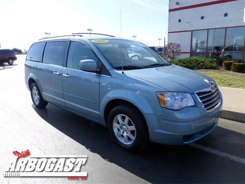 2008 chrysler town country mini van touring for sale in troy ohio classified. Black Bedroom Furniture Sets. Home Design Ideas