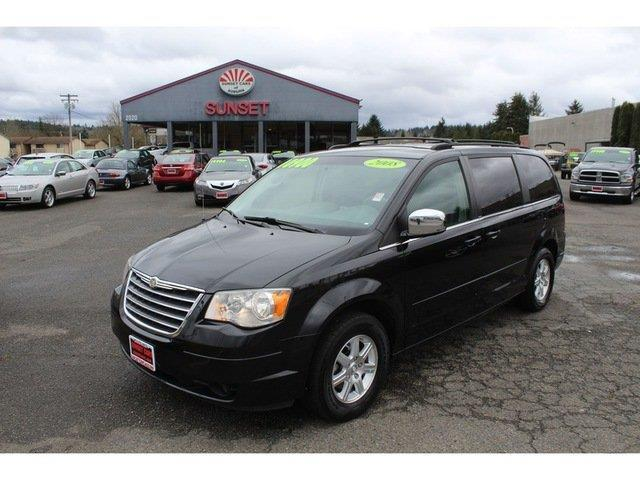 2008 chrysler town and country touring touring 4dr mini van for sale in auburn washington. Black Bedroom Furniture Sets. Home Design Ideas