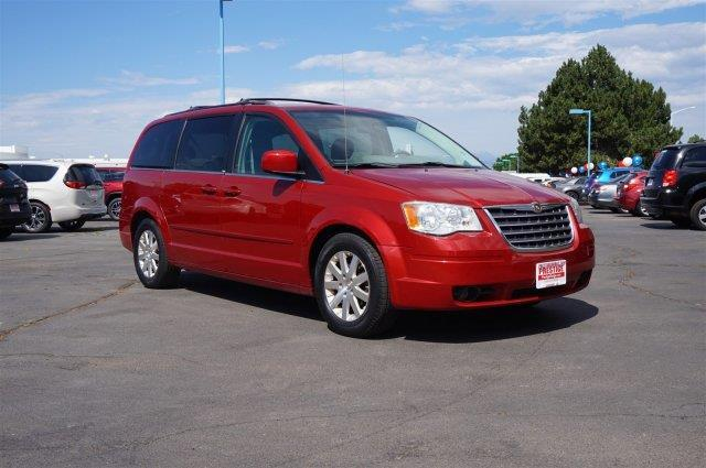 2008 chrysler town and country touring touring 4dr mini van for sale in longmont colorado. Black Bedroom Furniture Sets. Home Design Ideas
