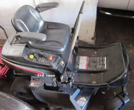 2008 Craftsman Zts 7500 Zero Turn Low Hours 26hp 50