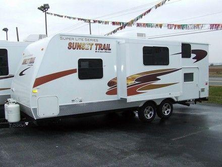2008 Crossroads RV Sunset Trail 22BH Lite