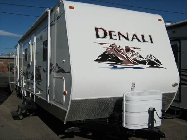 2008 denali 30bs travel trailer double slides w 2