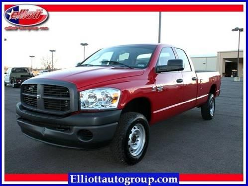 2008 dodge ram 2500 pickup truck 4wd quad cab 160 5 st for Elliott motors mt pleasant tx