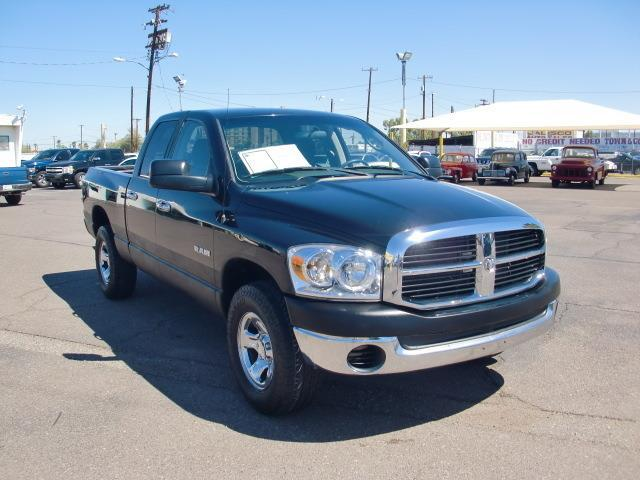 2008 Dodge Ram Pickup 1500 ST ST 4dr Quad Cab 4WD SB for ...