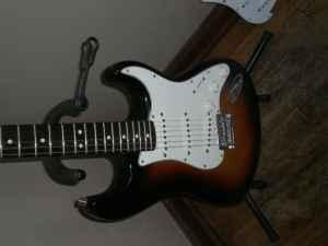 2008 fender mim strat valley ne for sale in omaha nebraska