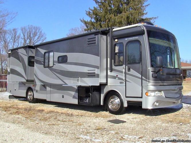 2008 fleetwood expedition 38f used class a diesel for Used diesel motor homes