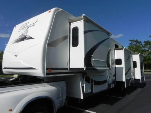 2008 Fleetwood Regal Extreme Edition 5th Wheel For Sale In