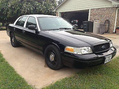 2008 ford crown victoria police interceptor sedan 4 door 4 6l for sale in box church texas. Black Bedroom Furniture Sets. Home Design Ideas