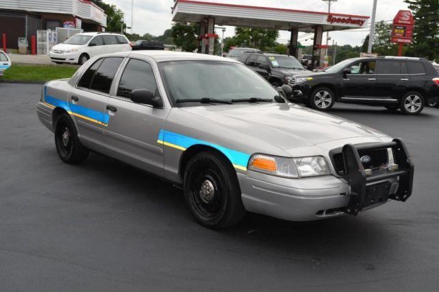 2008 Ford Crown Victoria Police Interceptor With K9