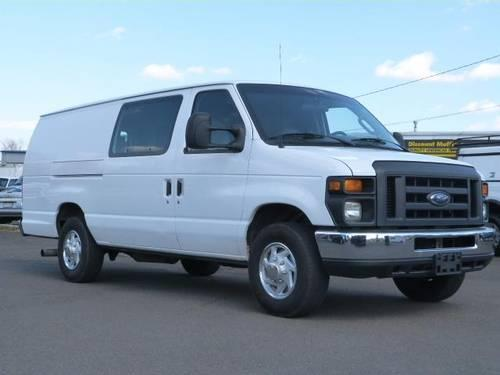 2008 ford e 350 super duty van cargo extended ext diesel cargo for sale in fairless hills. Black Bedroom Furniture Sets. Home Design Ideas
