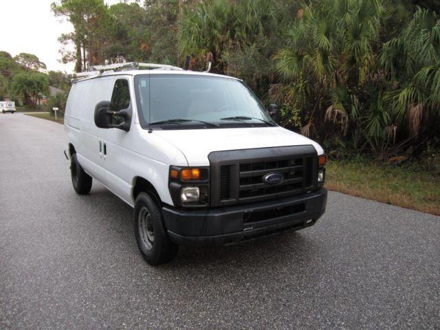 2008 ford econoline e250 e 250 cargo van for sale in venice florida classified. Black Bedroom Furniture Sets. Home Design Ideas