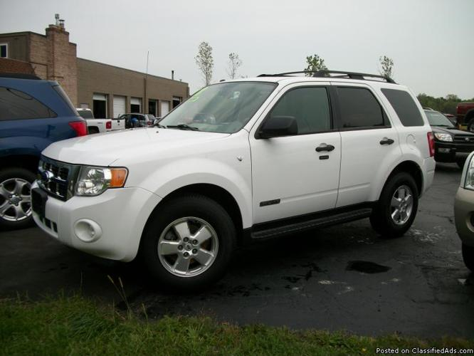 2008 ford escape xlt 4wd v6 for sale in lockport new york for Master motors lockport ny