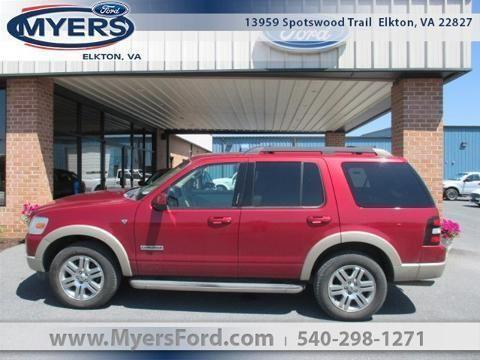2008 ford explorer four wheel drive with locking differential 4 door for sale in elkton. Black Bedroom Furniture Sets. Home Design Ideas
