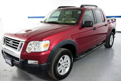 2008 ford explorer sport trac suv rwd 4dr v6 xlt red power windows for sale in austin texas. Black Bedroom Furniture Sets. Home Design Ideas