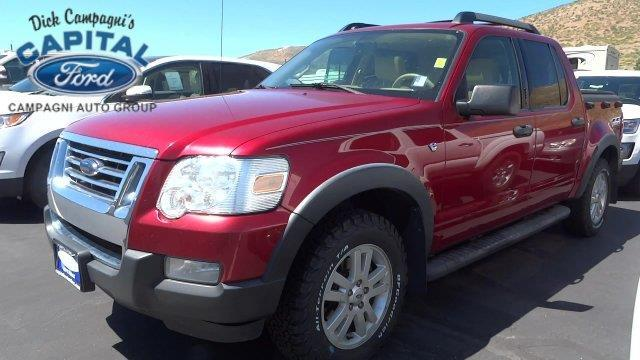 2008 ford explorer sport trac xlt 4x4 xlt 4dr crew cab v8 for sale in carson city nevada. Black Bedroom Furniture Sets. Home Design Ideas