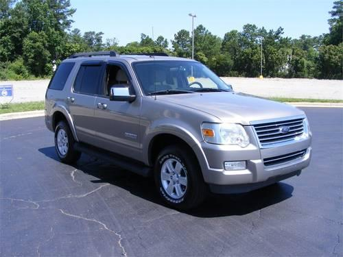 2008 ford explorer suv rwd 4dr v6 xlt for sale in wilson north carolina classified. Black Bedroom Furniture Sets. Home Design Ideas