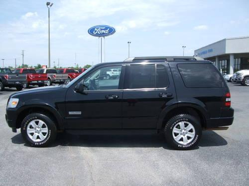 2008 ford explorer xlt black tan 64k mi for sale in alexander city alabama classified. Black Bedroom Furniture Sets. Home Design Ideas