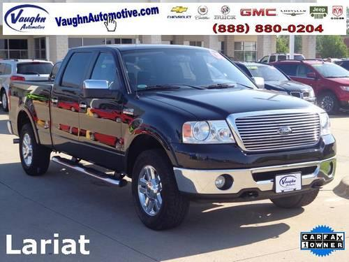 2008 ford f 150 4d crew cab lariat for sale in bladensburg iowa classified. Black Bedroom Furniture Sets. Home Design Ideas