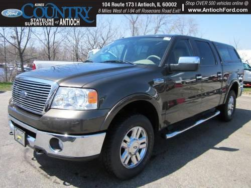 2008 ford f 150 4d crew cab lariat for sale in antioch illinois classified. Black Bedroom Furniture Sets. Home Design Ideas