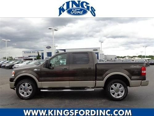 2008 ford f 150 crew cab pickup king ranch for sale in symmes township ohio classified. Black Bedroom Furniture Sets. Home Design Ideas