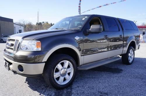 2008 ford f 150 crew cab pickup short bed king ranch for sale in carrollton maryland. Black Bedroom Furniture Sets. Home Design Ideas