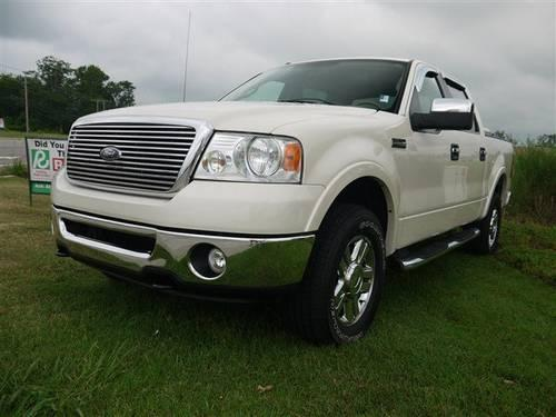 2008 ford f 150 crew cab pickup supercrew lariat with 6 disc changer for sale in wilson north. Black Bedroom Furniture Sets. Home Design Ideas