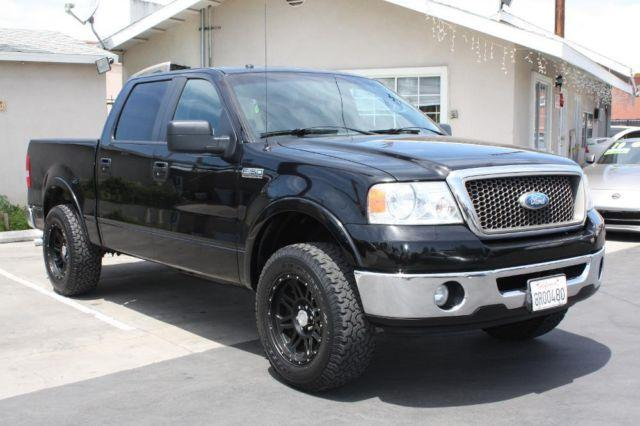 2008 ford f 150 lariat 4x2 4dr supercrew styleside 5 5 ft sb for sale in whittier california. Black Bedroom Furniture Sets. Home Design Ideas
