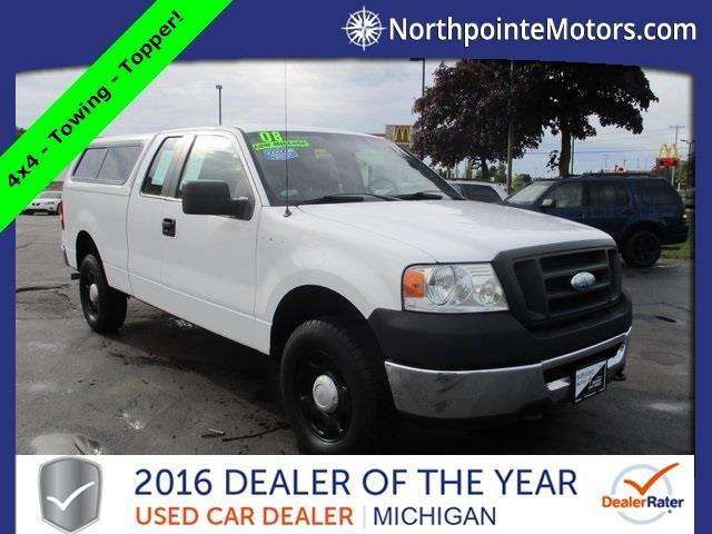 2008 ford f 150 xl 4x4 xl 4dr supercab styleside 6 5 ft for North point motors traverse city
