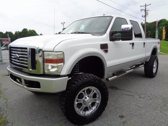 2008 ford f 250 super duty lariat lariat 4dr crew cab 4wd sb for sale in greensboro north. Black Bedroom Furniture Sets. Home Design Ideas