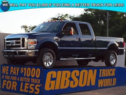 2008 Ford F 350 Lariat Crew Cab Long Bed Powerstroke