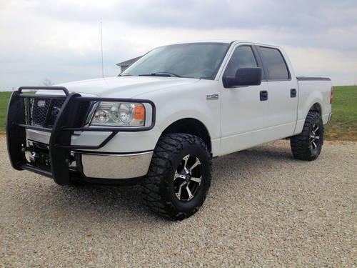 2008 ford f150 supercrew 4x4 lifted for sale in brighton missouri classified. Black Bedroom Furniture Sets. Home Design Ideas