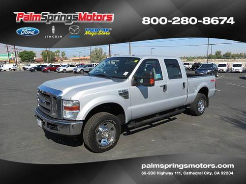 2008 ford f250 super duty crew cab xlt pickup 4d 6 3 4 ft On ford palm springs motors